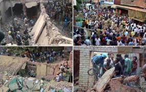 हादसा: अलीगढ़ में खिलौने बनाने वाली फैक्ट्री में धमाका, मलबे में दबने से 3 की मौत, बचाव कार्य जारी