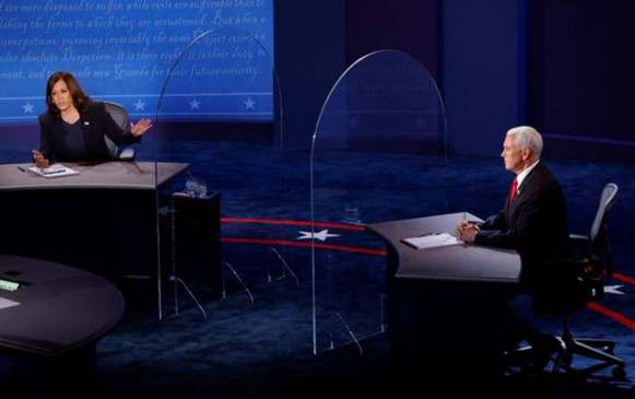 Vice Presidential Debate 2020: कोरोना से लेकर चीन तक, जानिए कमला हैरिस और पेंस ने क्या कहा?