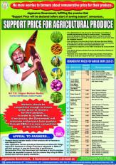 आंध्र में 24 कृषि उपजों पर एमएसपी का ऐलान