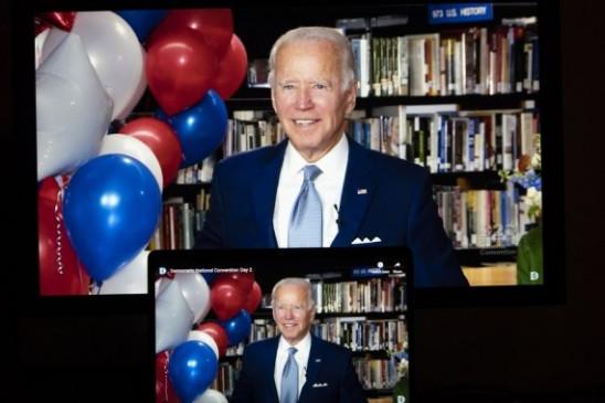 अमेरिकी राष्ट्रपति चुनाव के लिए बाइडेन ने डाला शुरूआती वोट