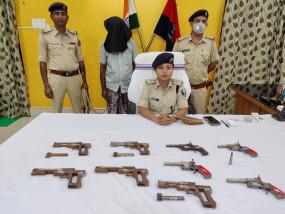बिहार : मिनी गन फैक्ट्री का भंडाफोड़, संचालक गिरफ्तार