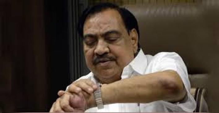 एनसीपी में इस दिन शामिल होंगे भाजपा के दिग्गज नेता खडसे