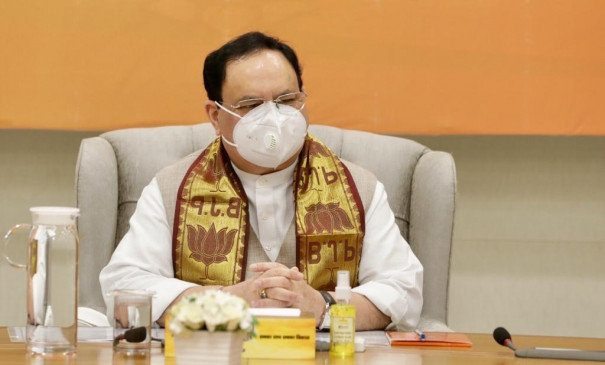 पश्चिम बंगाल जाकर माहौल बनाएंगे भाजपा के राष्ट्रीय अध्यक्ष जेपी नड्डा