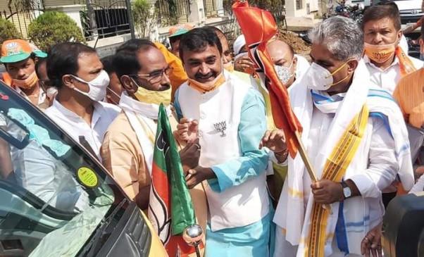 राजद के जंगलराज की याद दिलाएगा भाजपा का चुनाव प्रचार रथ : भूपेंद्र यादव