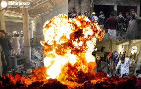 पाकिस्तान: पेशावर के मदरसे में बड़ा बम धमाका, 7 की मौत, 70 से ज्यादा गंभीर घायल