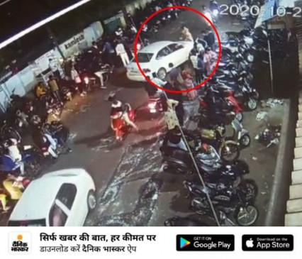 एसआई को कुचलने की कोशिश करने वाला कार चालक गिरफ्तार