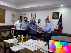 कैट और मास्टरकार्ड ने दिल्ली से शुरू किया सैनिटाईजेशन किट वितरण अभियान