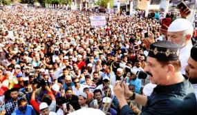 Bhopal Protest: फ्रांस के राष्ट्रपति के खिलाफ मुस्लिम समुदाय का प्रदर्शन, सीएम शिवराज ने कहा- शांति भंग करने वालों से सख्ती से निपटेंगे