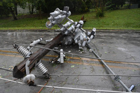 अमेरिका में डेल्टा तूफान से हजारों घरों में बिजली आपूर्ति बाधित