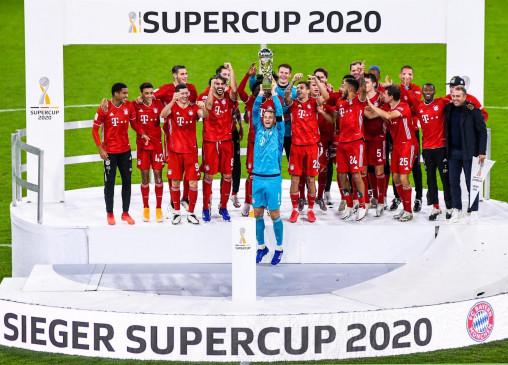 फुटबॉल : बायर्न ने डार्टमंड को हराकर जीता सुपर कप