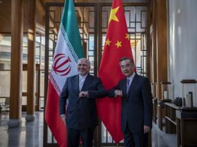 चीन और ईरान के विदेश मंत्रियों के बीच मुलाकात