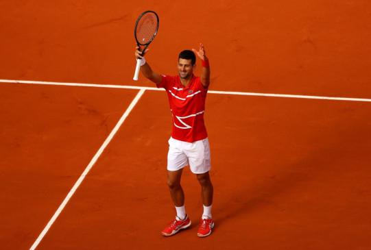 French Open 2020: वर्ल्ड नंबर-1 नोवाक जोकोविच की रोलैंड गारोस में रिकॉर्ड 70वीं जीत, टूर्नामेंट के तीसरे राउंड में पहुंचे