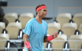 French Open 2020: राफेल नडाल ने चौथे राउंड में किया प्रवेश, स्टेफानो को तीसरे राउंड में हराया