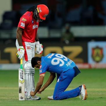गेल के दोनों पैर बांधकर गेंदबाजी करनी चाहिए : अश्विन