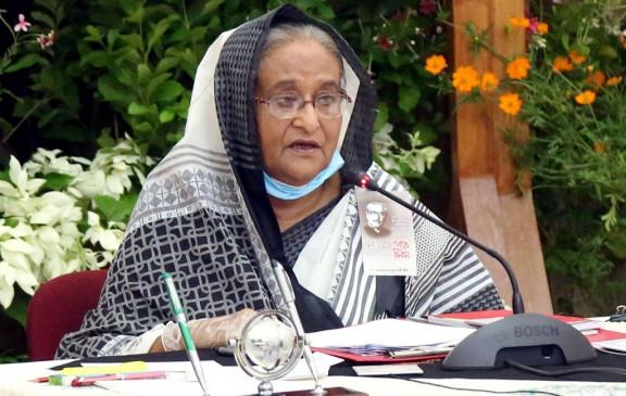 हसीना ने कोविड-19 पर स्वास्थ्य मंत्रालय की प्रतिक्रिया की सराहना की