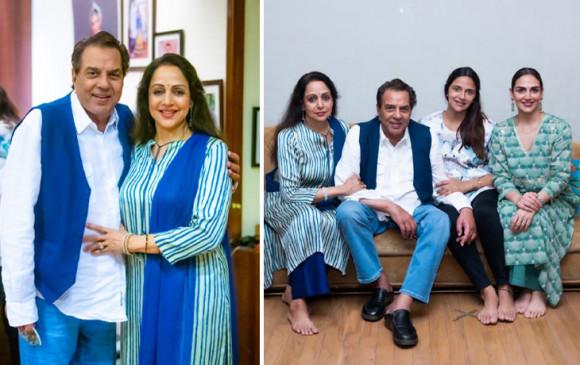 हेमा मालिनी ने पति धर्मेद्र के संग वाली ताजा तस्वीर साझा की