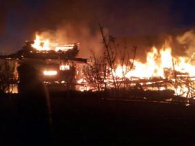 हिमाचल : आग लगने से सात घर जलकर राख