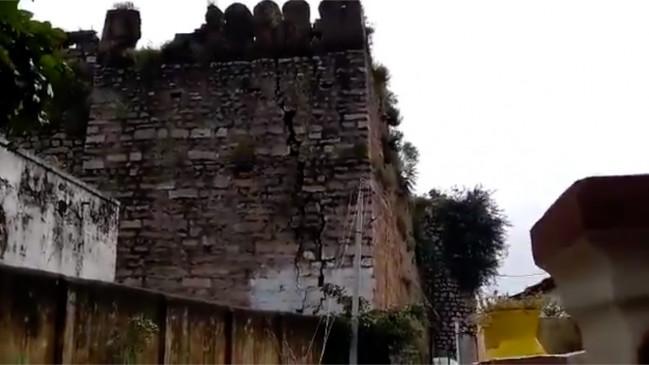 तेलंगाना का ऐतिहासिक शाहपुर किला ध्वस्त