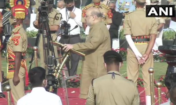 Police Commemoration Day: जब देश अपने त्योहार मनाता है, तब पुलिसवाले ड्यूटी कर रहे होते हैं- अमित शाह