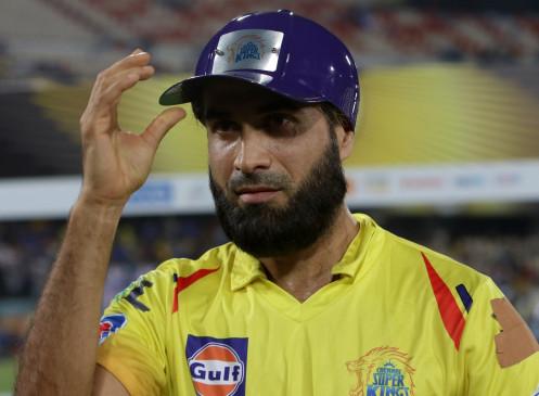 IPL-13: इमरान ताहिर ने कहा, चेन्नई के लिए ड्रिंग्स ले जाकर खुश हूं