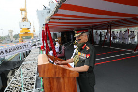 भारतीय नौसेना के बेड़े में शामिल हुआ स्वदेशी आईएनएस कवरत्ती