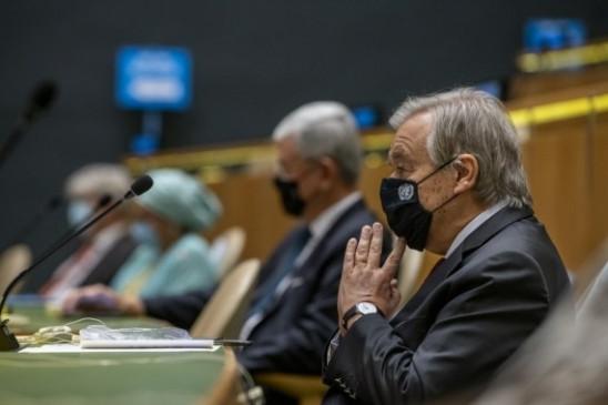 अंतर्राष्ट्रीय सहयोग कोविड-19 को हराने का एकमात्र तरीका : गुटेरेस