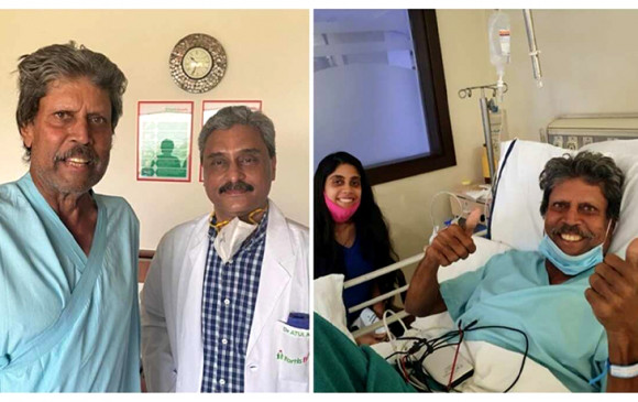 Kapil Dev discharged: हार्ट अटैक के बाद स्वस्थ हुए कपिल देव, अस्पताल से मिली छुट्टी