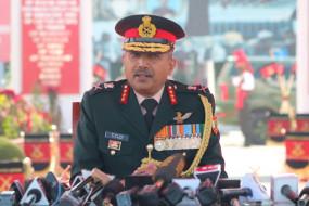 कश्मीर में एलओसी से घुसपैठ काफी हद तक कम हुई : ले.जनरल राजू
