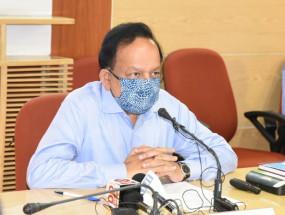 महाराष्ट्र, चंडीगढ़ ने कोविड अनुदान का 50 फीसदी से कम इस्तेमाल किया : हर्षवर्धन