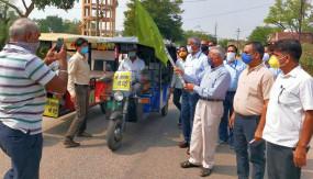 जयपुर: मोटर साईकिल रैली के जरिये दिया कोरोना के प्रति जागरूक रहने का संदेश