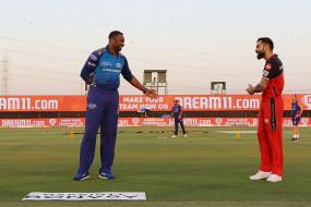MI vs RCB: मुंबई के कप्तान किरोन पोलार्ड ने जीता टॉस, पहले गेंदबाजी का फैसला