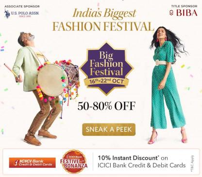मिंत्रा बिग फैशन फेस्टिवल की धमाकेदार शुरुआत