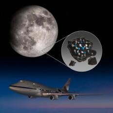 नासा ने चांद की सतह पर पानी की पुष्टि की