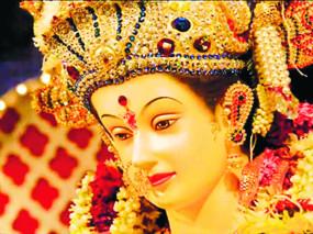 माहुर किले में बिना श्रद्धालुओं के शुरू हुई नवरात्रि