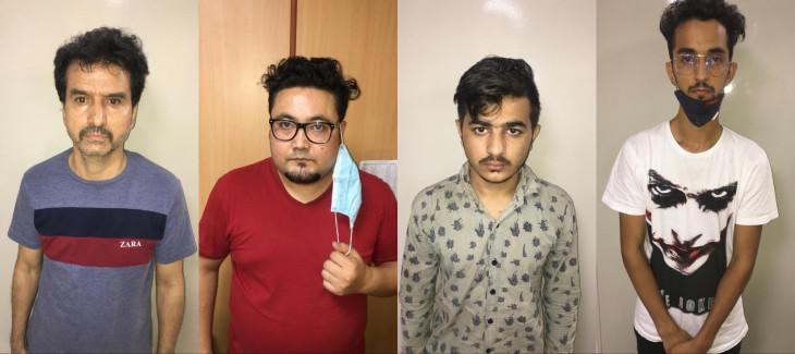 एनसीबी ने हेरोइन के साथ चार अफगानियों को गिरफ्तार किया