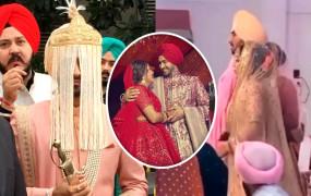 नेहा कक्कड़, रोहनप्रीत ने गुरुद्वारे में रचाई शादी