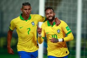 नेमार ने रोनाल्डो को पीछे छोड़ा, ब्राजील के लिए दूसरे सर्वोच्च गोल स्कोरर बने