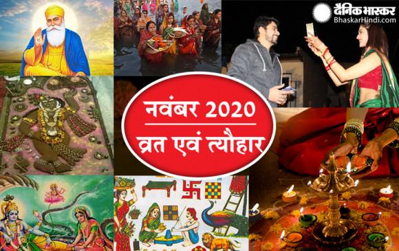 नवंबर माह: करवाचौथ से दिवाली तक इस माह में आएंगे कई महत्वपूर्ण त्यौहार, जानें इनकी तिथि