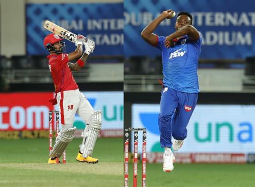 IPL-13: औरेंज कैप राहुल के पास बरकरार, रबादा के पास पर्पल कैप