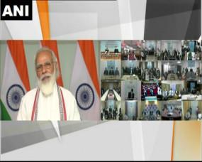 PM मोदी ने कहा- भ्रष्टाचार मामले में जीरो टॉलरेंस की नीति पर बढ़ रहा देश, लेकिन भ्रष्टाचार का वंशवाद आज की सबसे बड़ी चुनौती