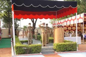 जयपुर: पुलिस शहीद दिवस शहीद पुलिसकर्मियों को श्रद्धांजलि