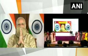 पुजोर शुभेच्छा: बंगाल में मां दुर्गा के पंडाल से बोले पीएम मोदी- आत्मनिर्भर भारत का संदेश भी बंगाल से ही सफल होगा