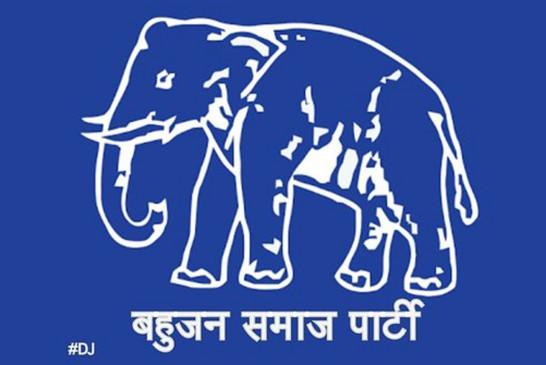 बसपा से राज्यसभा प्रत्याशी रामजी गौतम ने किया नामांकन