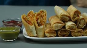 Roll: झटपट बनाएं बेक्ड नूडल्स स्प्रिंग रोल्स, जानें आसान रेसिपी