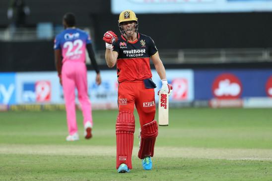 RR vs RCB, IPL 2020: डिविलियर्स के दम पर जीता आरसीबी, राजस्थान को 7 विकेट से हराया