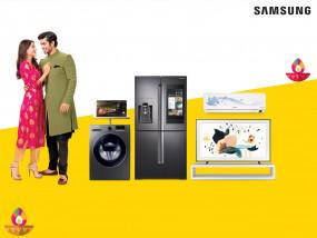 सैमसंग ने टीवी, डिजिटल एप्लाएंसेज पर फेस्टिवल डिस्काउंट की घोषणा की