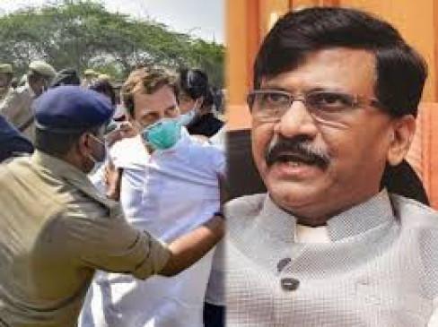 शिवसेनानेता राऊत ने राहुल के साथ बदसलूकी को बताया लोकतंत्र का गैंगरेप