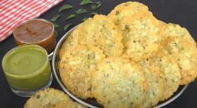 Snacks: बनाएं क्रंची- क्रिस्पी राइस पापड़ी नमकीन, जानें रेसिपी