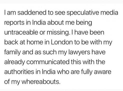 सुशांत मामला : गायब होने की खबरों पर सपना पब्बी ने दी प्रतिक्रिया