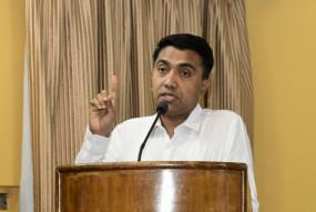 कोविड-19 के खिलाफ लड़ाई में एहतियात बरतें : प्रमोद सावंत